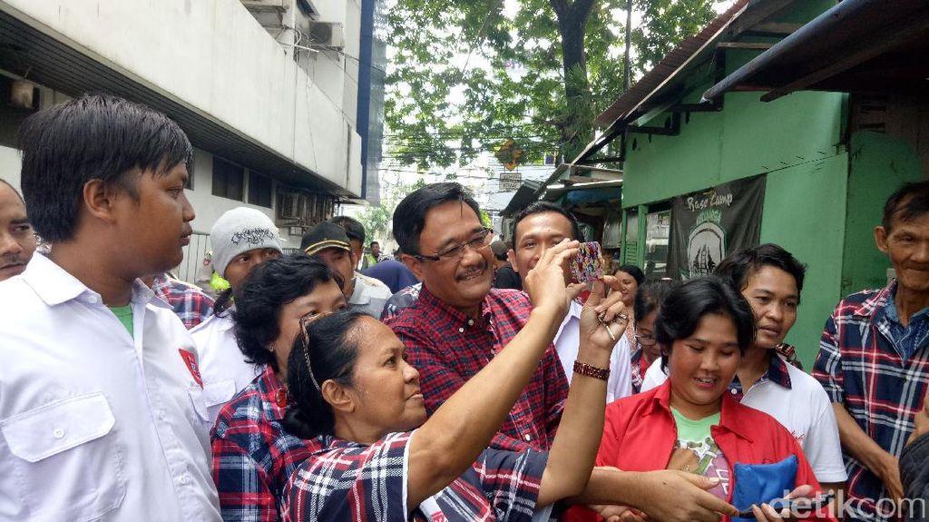 Djarot: Sabar Pak Anies, Cuma Warga yang Bisa Pecat Kami