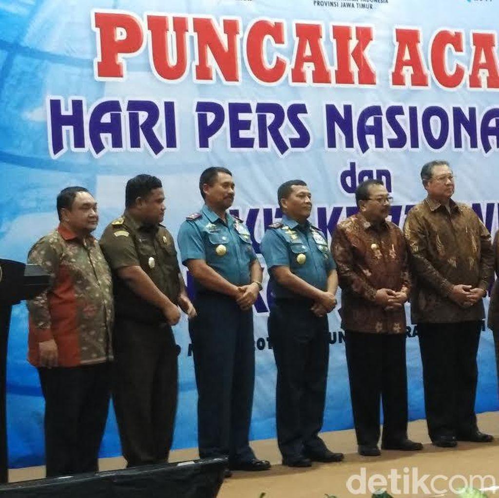 PWI Jatim Anugerahi SBY Penghargaan Putra Terbaik