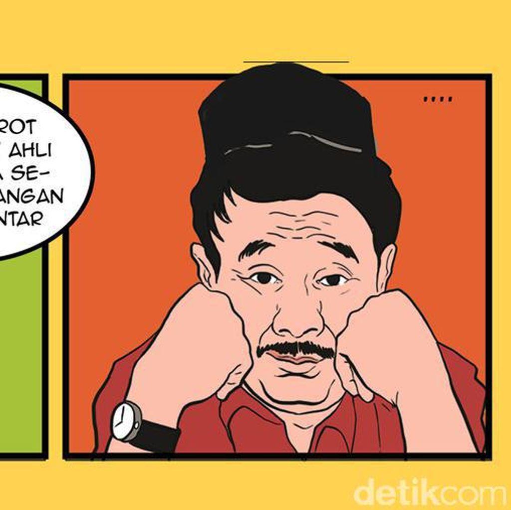 Komik: Djarot Bertanya, Sandiaga Membalas