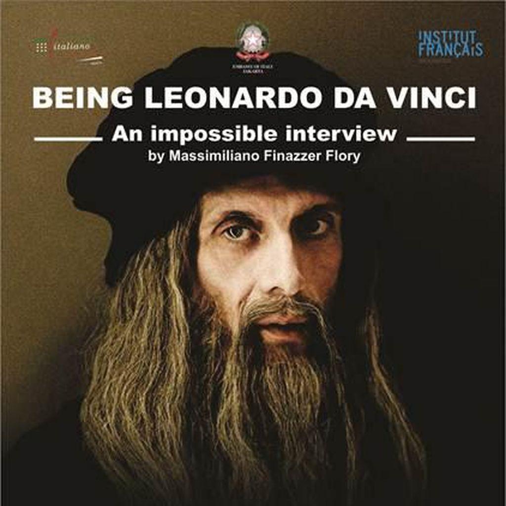 Pentas Teater Being Leonardo da Vinci Digelar di Jakarta