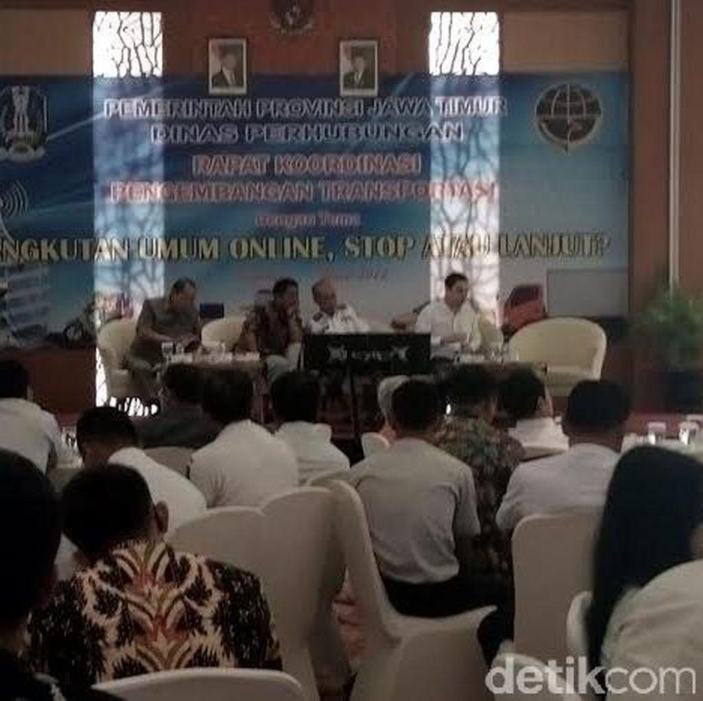 Gubernur Jatim akan Keluarkan Pergub Soal Transportasi Online