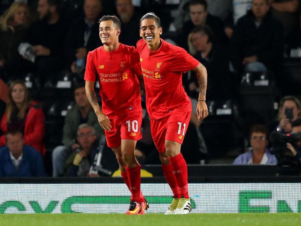 Liverpool Kirim Jet Pribadi untuk Jemput Coutinho dan Firmino
