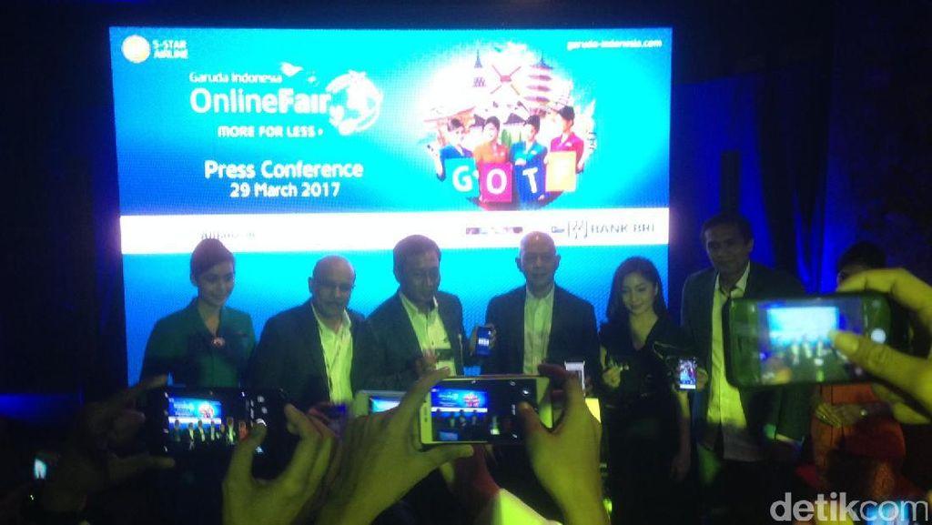 Serbu! Tiket Promo di Garuda Online Travel Fair 2017