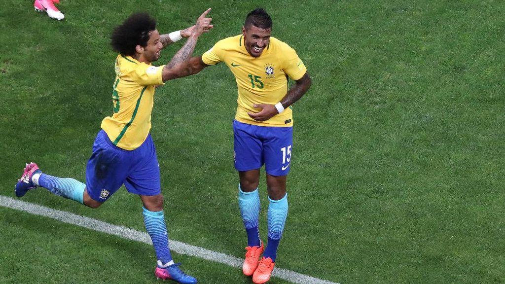 Brasil Lolos Piala Dunia 2018, Tite: Tak Perlu Bandingkan Timnya dengan Dunga
