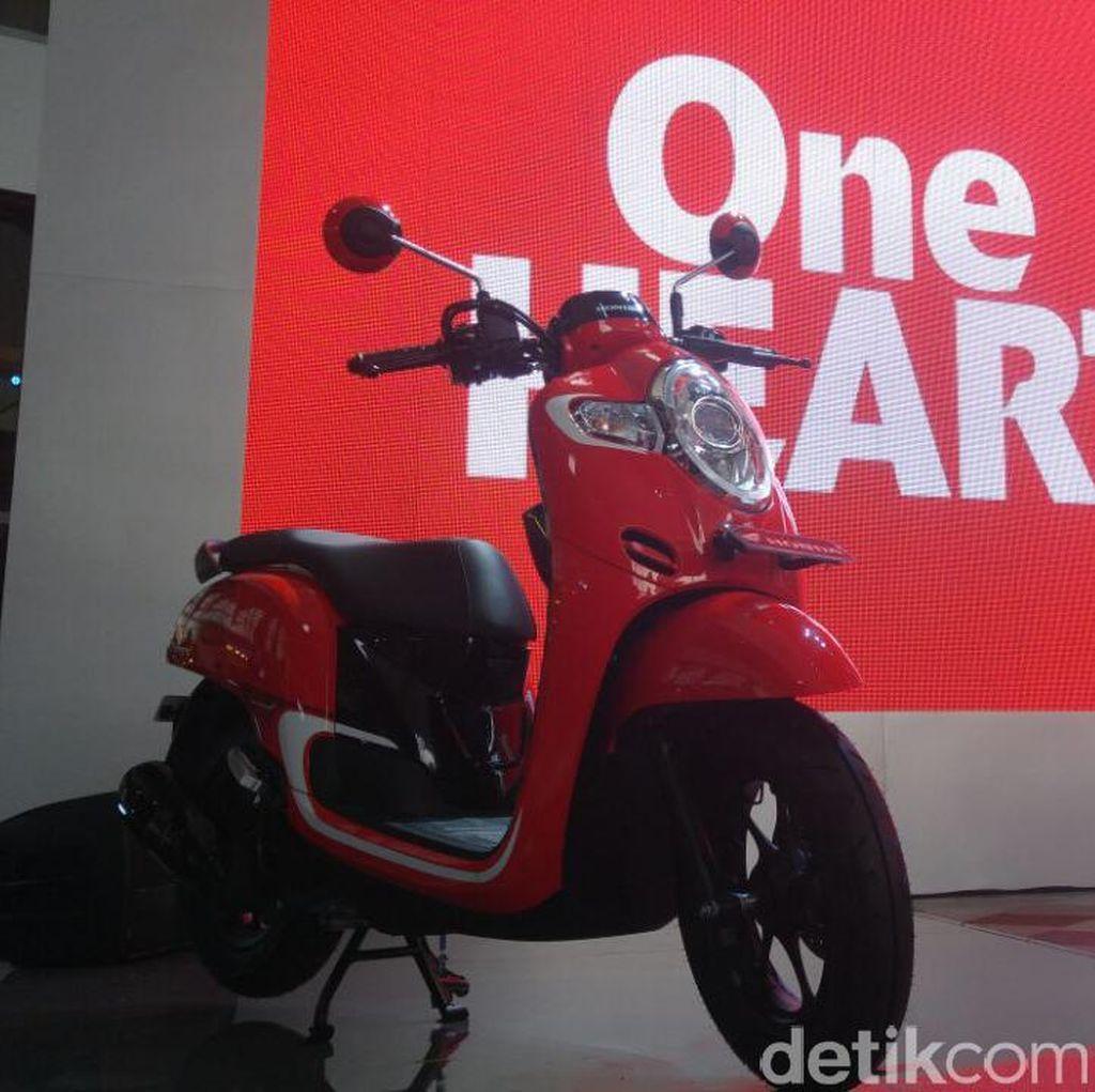 Honda Scoopy Asli Buatan Indonesia
