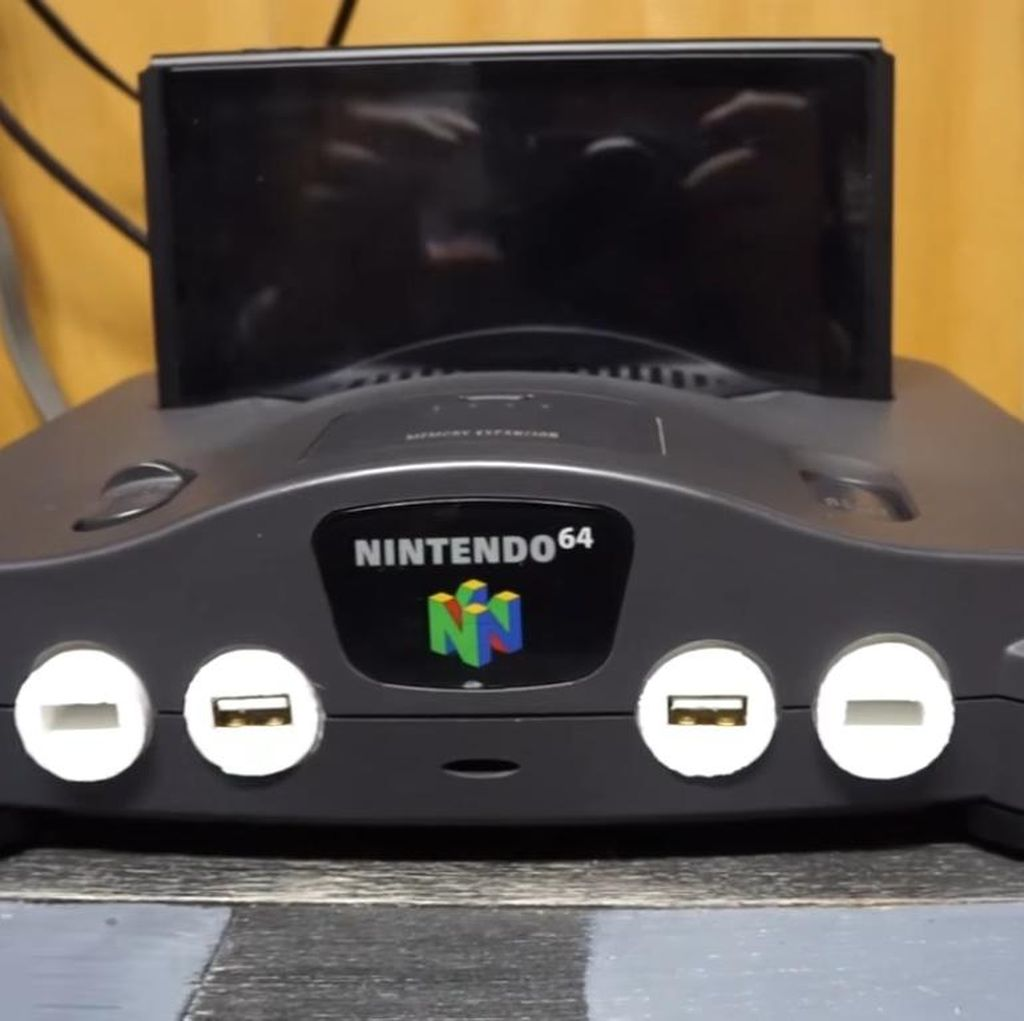 Kreatif! Nintendo 64 Disulap Jadi Docking Switch