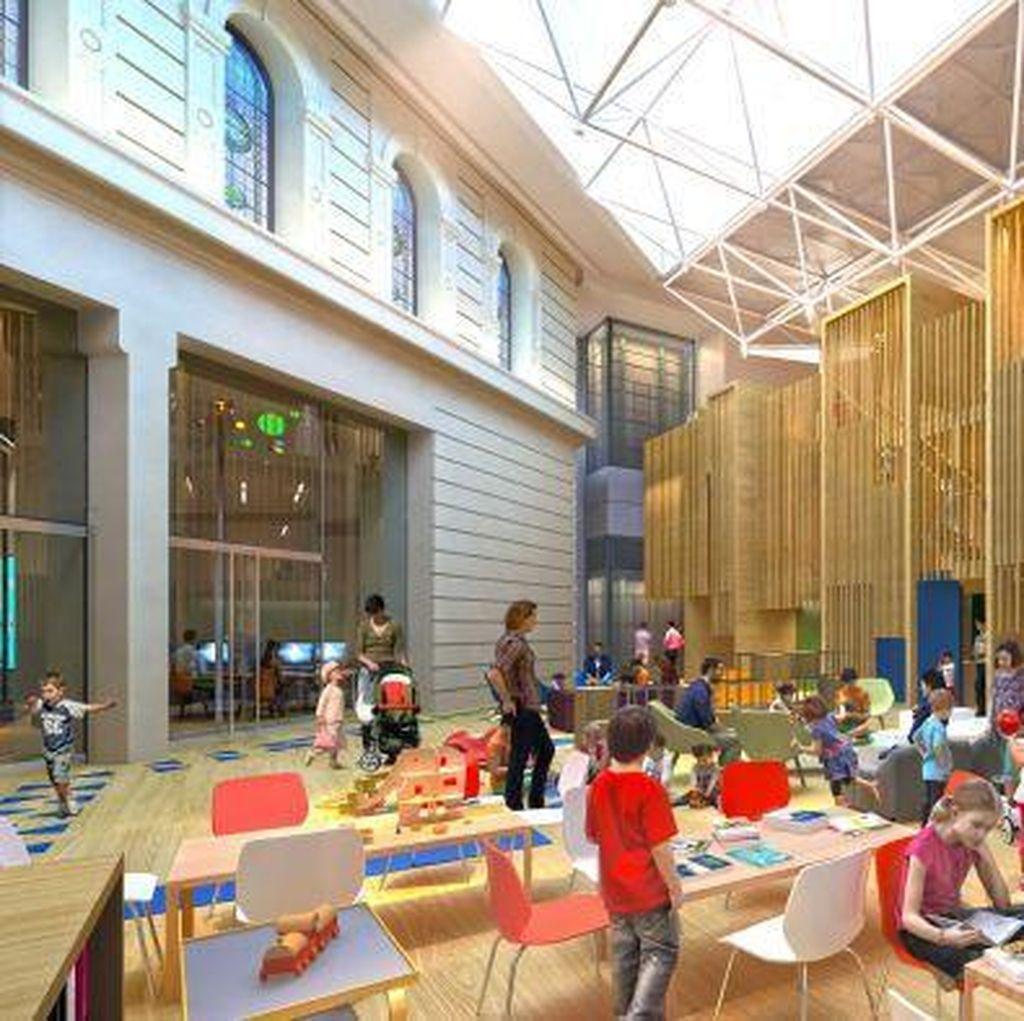 Kian Populer, Perpustakaan Melbourne Butuh Renovasi