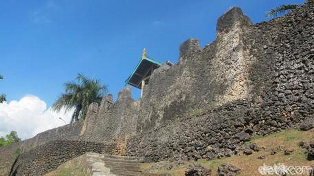 Benteng Terluas di Dunia Ada di Indonesia