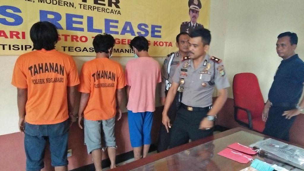 Jual Beli-Sabu, Kakak-Adik di Tangerang Ditangkap