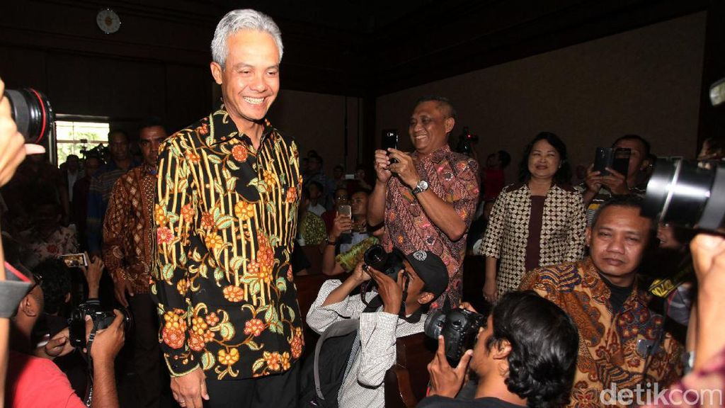 Di BAP Disebut Kenal Andi Narogong, Ganjar Pranowo: Tidak Kenal