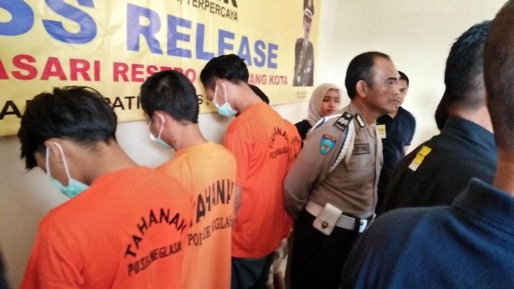 Curi Motor dengan Kunci Palsu, 2 Pemuda di Tangerang Dibekuk