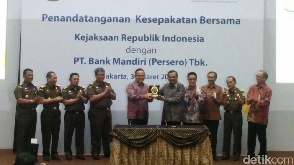 Kejaksaan RI Gandeng Bank Mandiri Berantas Pencucian Uang