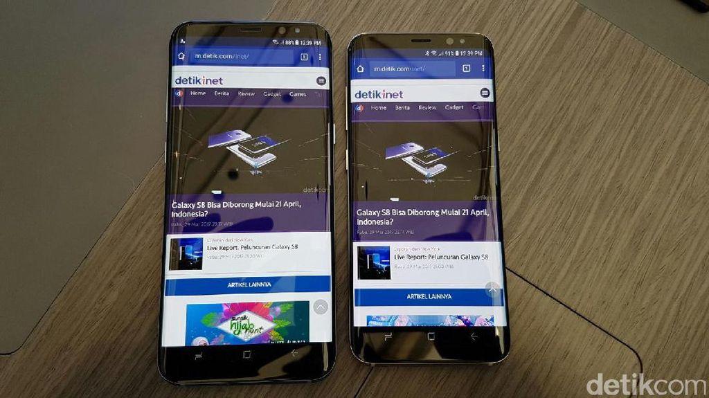 Samsung Janjikan Stok Galaxy S8 dan S8+ Melimpah