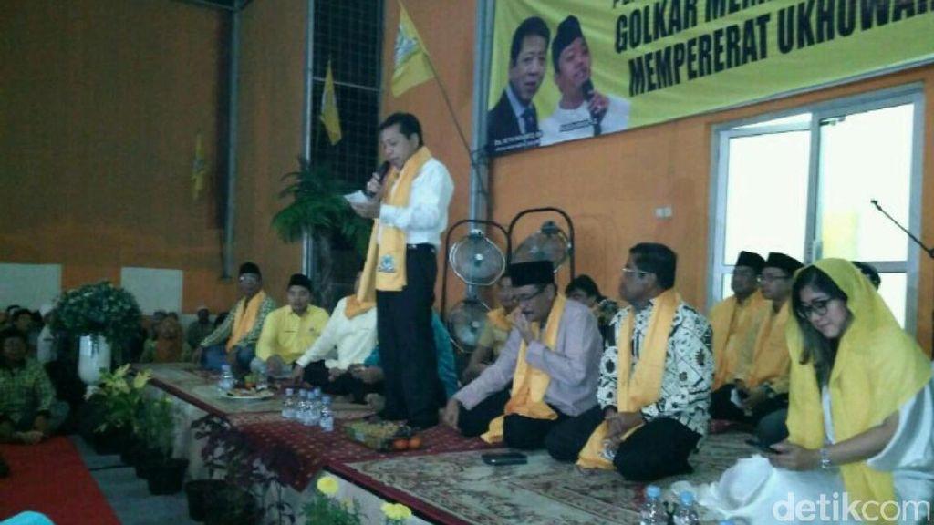 Novanto: Pengajian Bukti Partai Golkar Tidak Lepas Nilai Keislaman