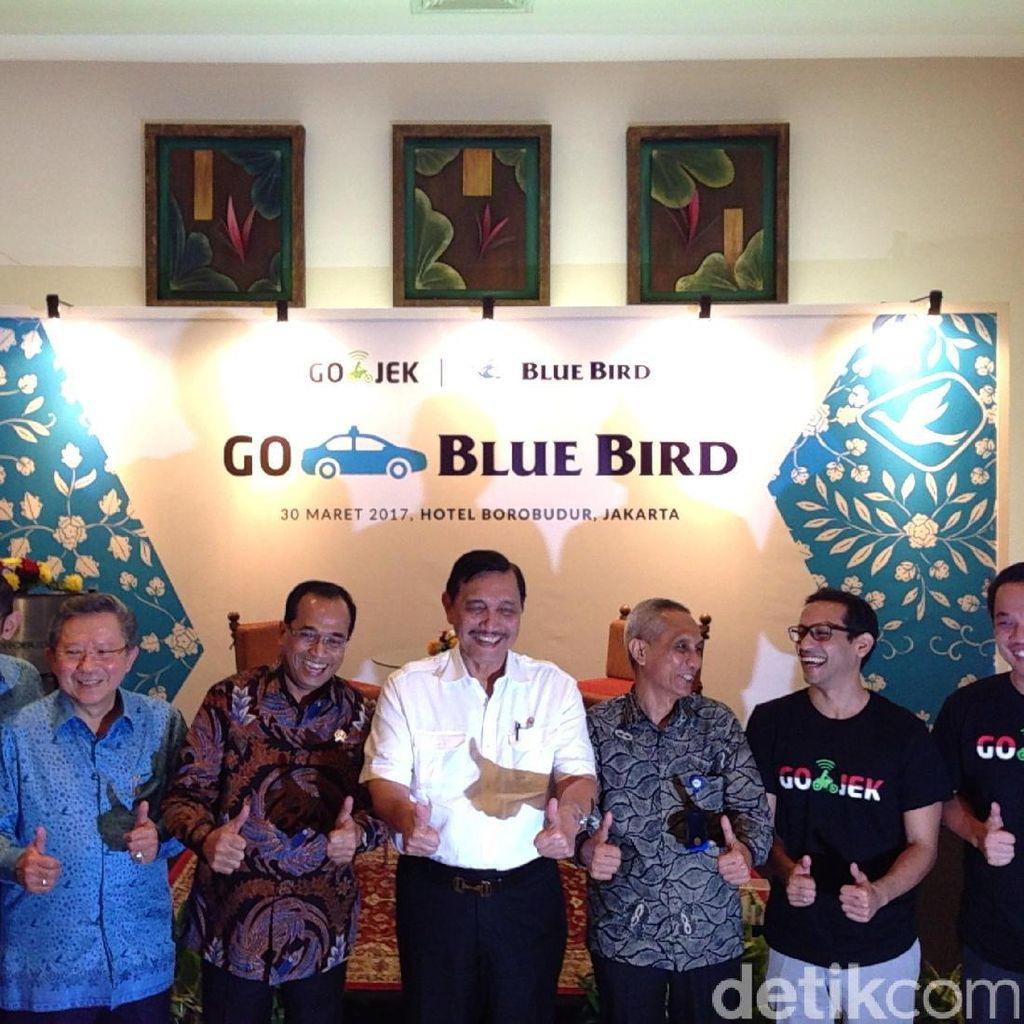 Go-Jek dan Blue Bird Resmikan Go-Blue Bird
