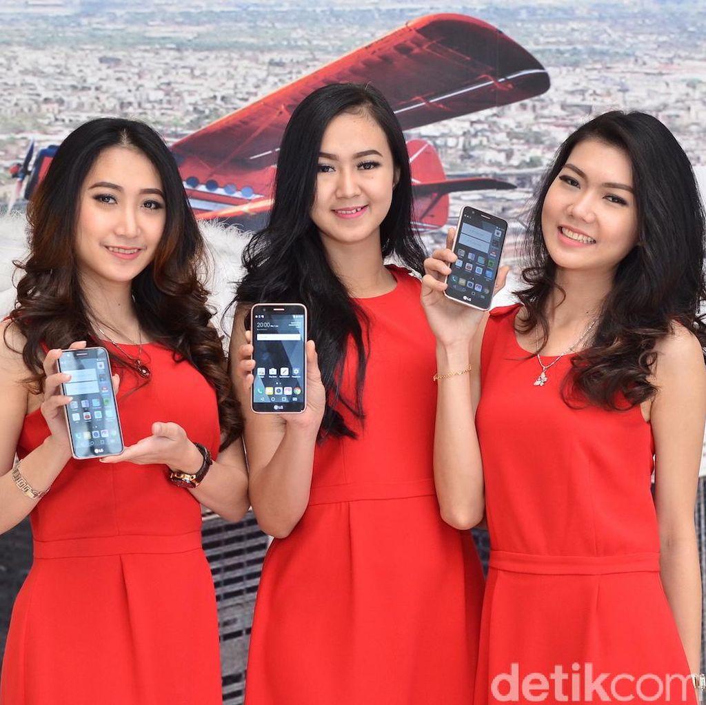 Tiga Ponsel Cantik LG Serbu Indonesia