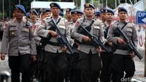 500 Personel Polda Jateng Bantu Amankan Pilkada DKI Jakarta