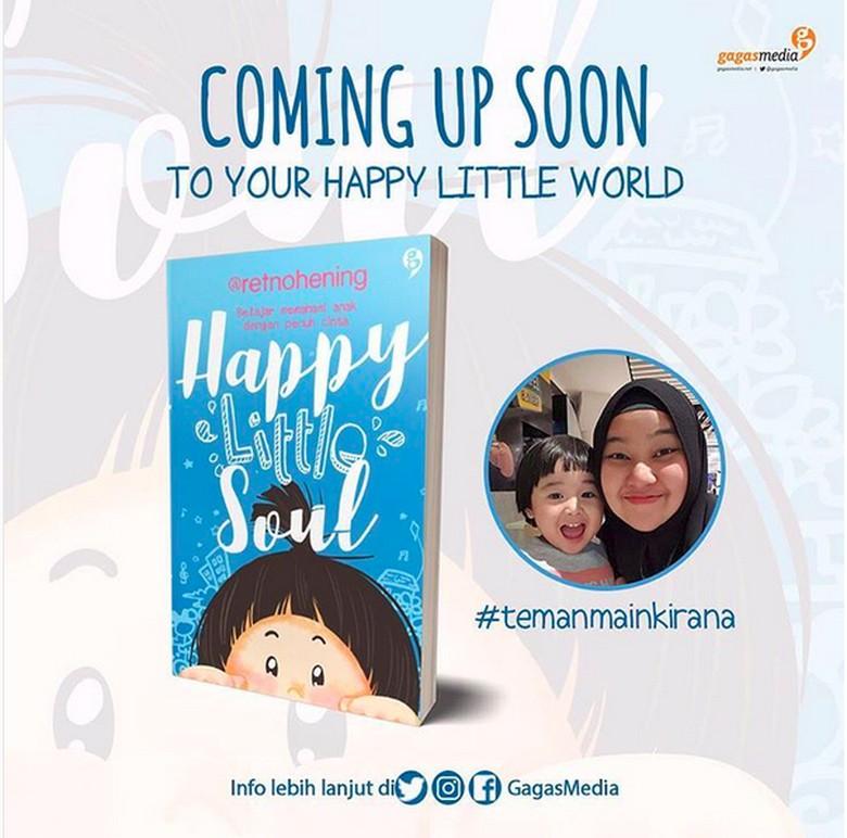 Retno Hening Terkejut Buku Happy Little Soul Laris Terjual di Pre Order