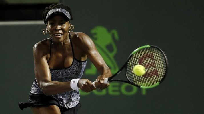 Venus Williams Pijak Semifinal Miami Terbuka
