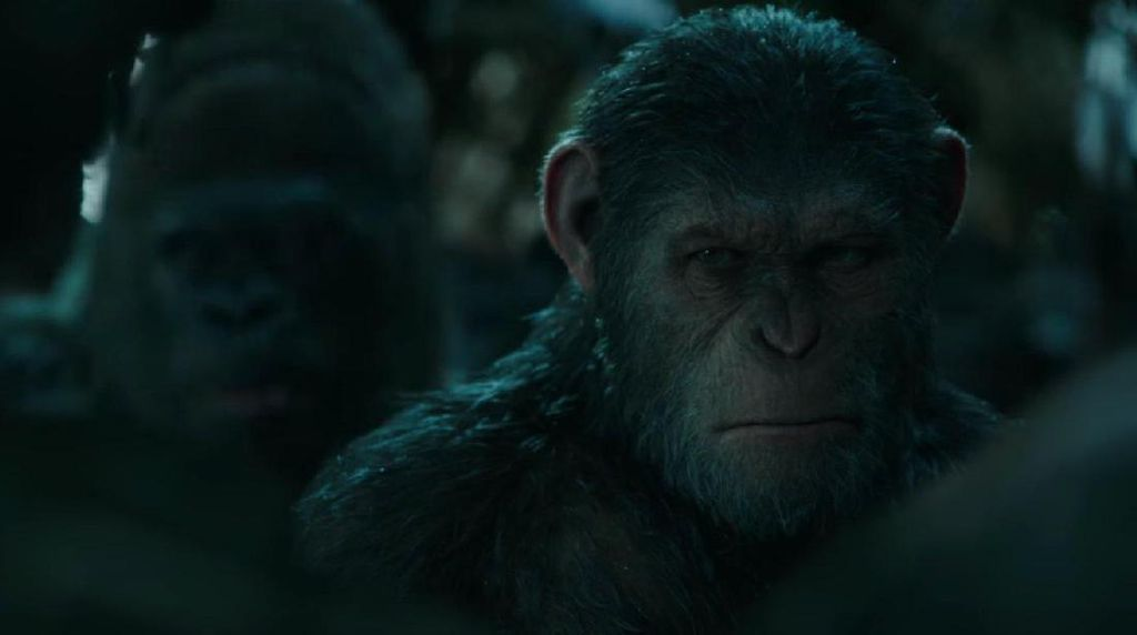 Cuplikan War For The Planet Of The Apes di Teaser Baru