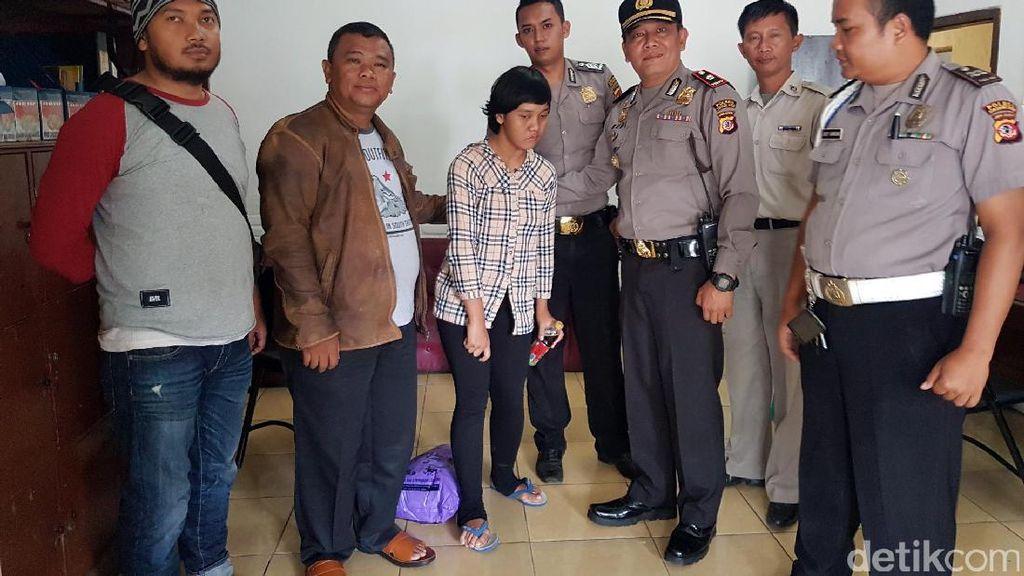Utusan Bupati Purwakarta Jemput Devina di Sukabumi