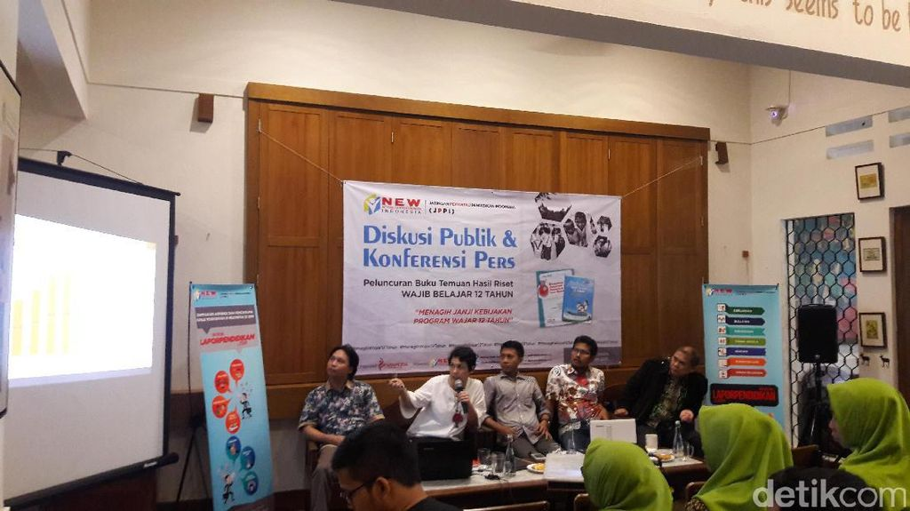 JPPI: Wajib Belajar 12 Tahun Masih Sebatas Retrorika