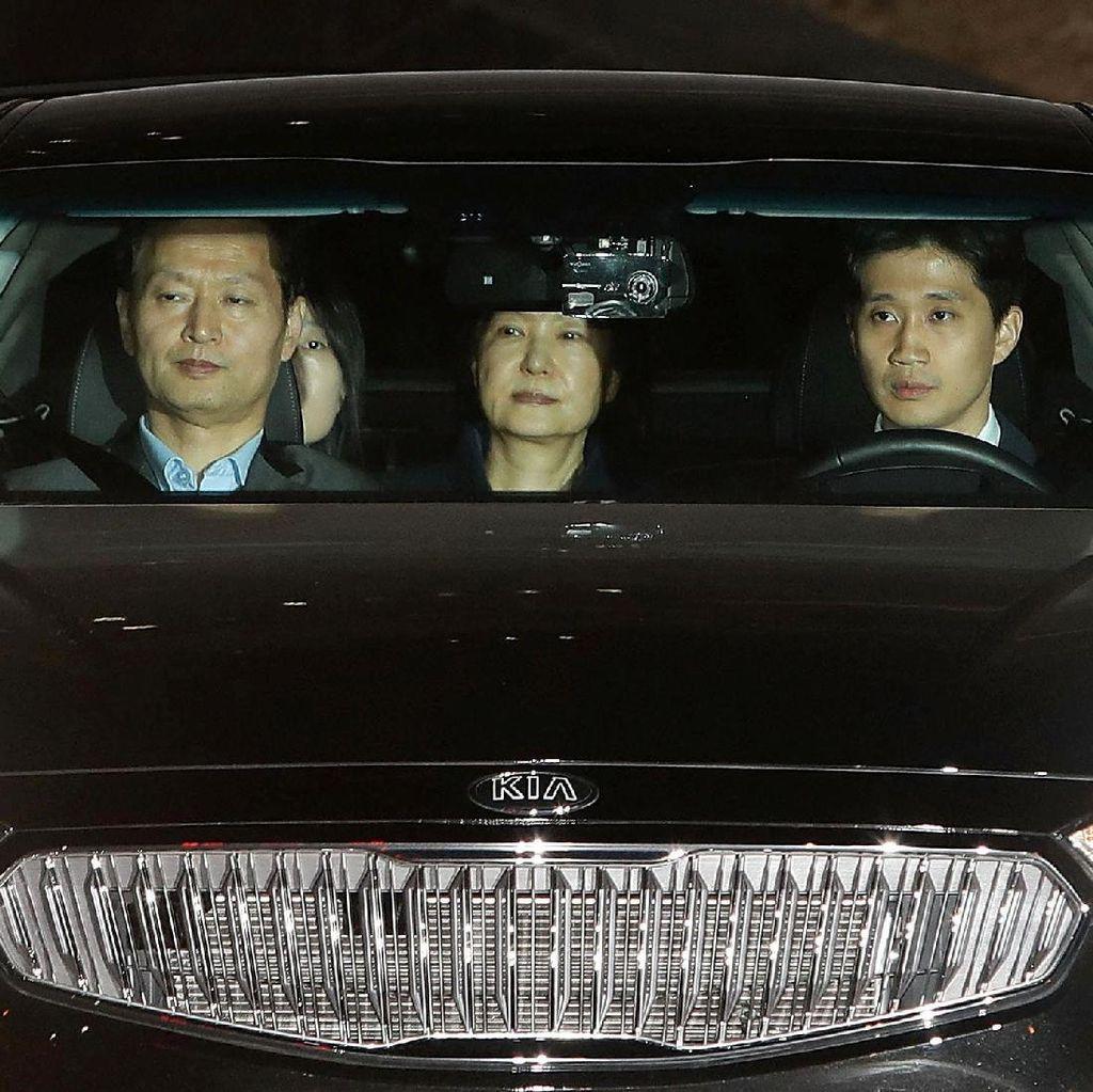 Eks Presiden Korea Selatan Park Geun-Hye Ditahan