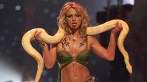 Foto: 7 Selebriti yang Berpose Seksi dengan Ular
