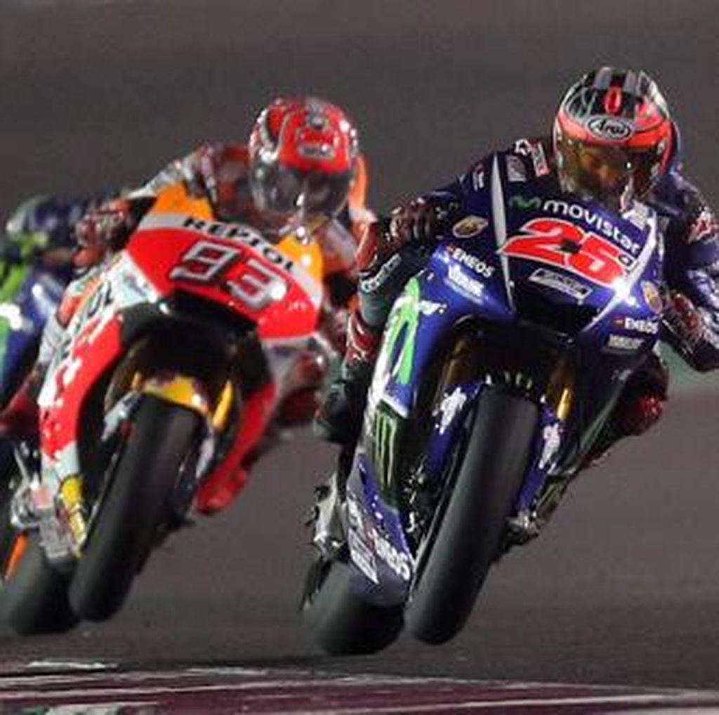 Titel MotoGP 2017 Akan Diraih Marquez atau Vinales