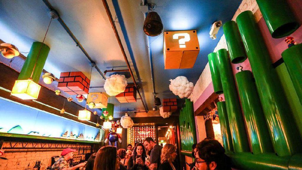 Pencinta Mario Bros Kini Bisa Mampir ke Bar Bertema Mario Bros  di Washington