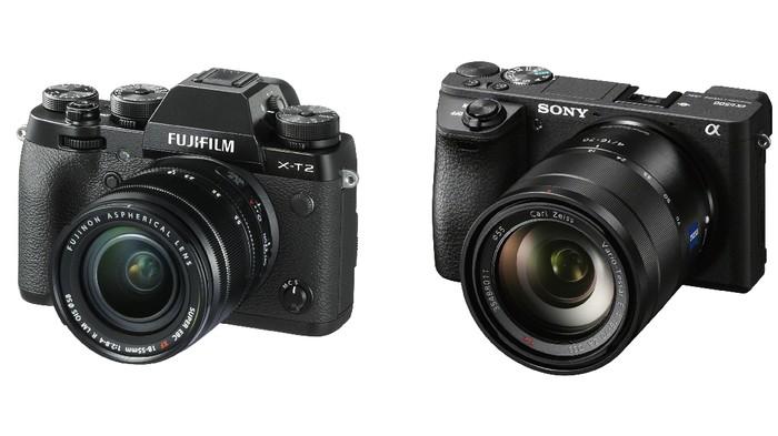 Sony A6500 vs Fuji X-T2, Mirrorless APS-C Beda Gaya