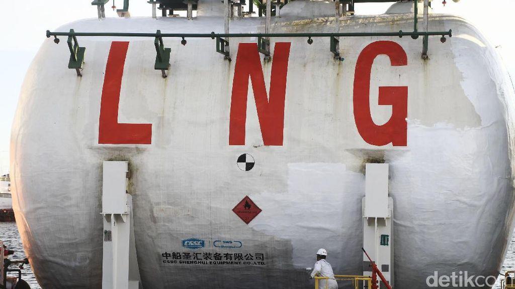 Kargo LNG Pertama Lapangan Jangkrik Dikirim ke Bali