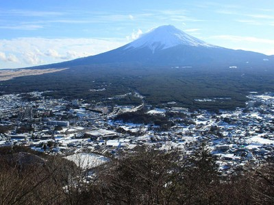 Mungkin, Inilah Pemandangan Terbaik Gunung Fuji di Jepang