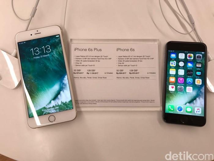 iPhone 6S dan  6S Plus (Foto: detikINET/Adi Fida Rahman)