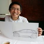 Kebanggaan Chris Lesmana Saat Rancangannya Jadi Mobil Terbaik Dunia