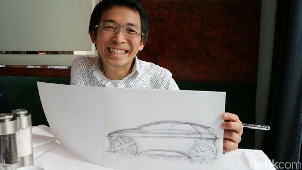 Jadi Desainer Otomotif, Mimpi Chris Lesmana Sejak Muda