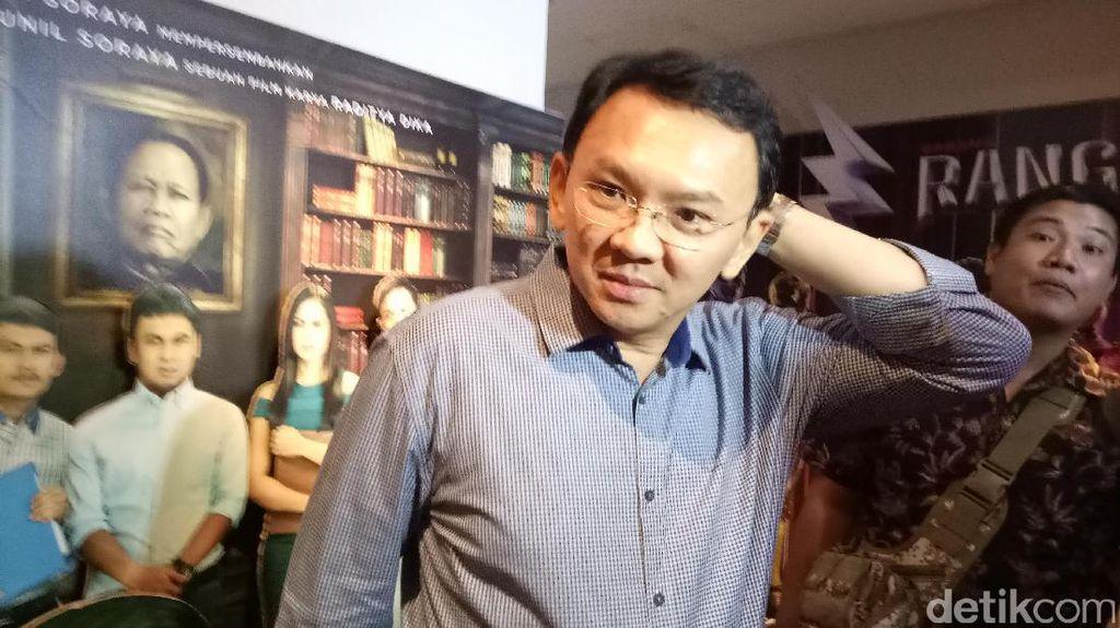 Gandeng Perusahaan Film, Ahok Akan Bangun Bioskop di Pasar