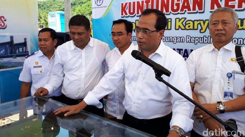 Menhub: Pelabuhan Gili Mas di Mataram Rampung 2019