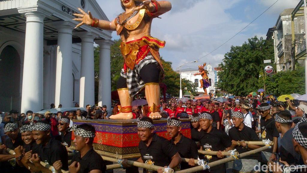 Akhir Pekan Seru di Semarang, Pawai Ogoh-ogoh
