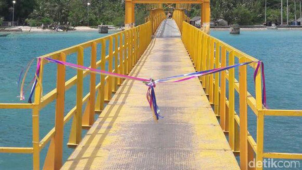 Sempat Putus, Jembatan Cinta di Bali Sudah Berfungsi Kembali