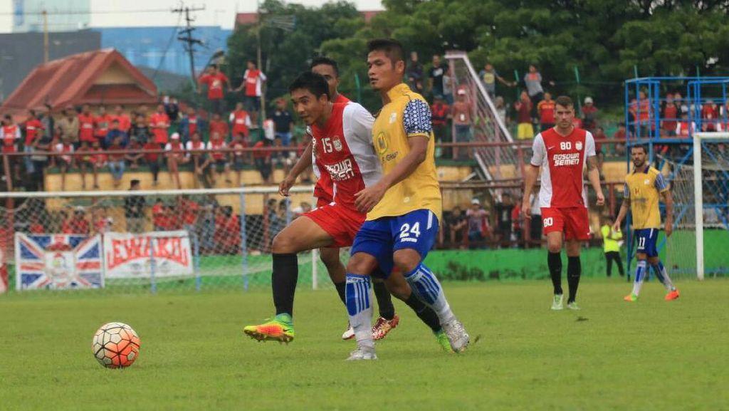Jajal Barito Putera, PSM Makassar Petik Hasil Imbang 2-2