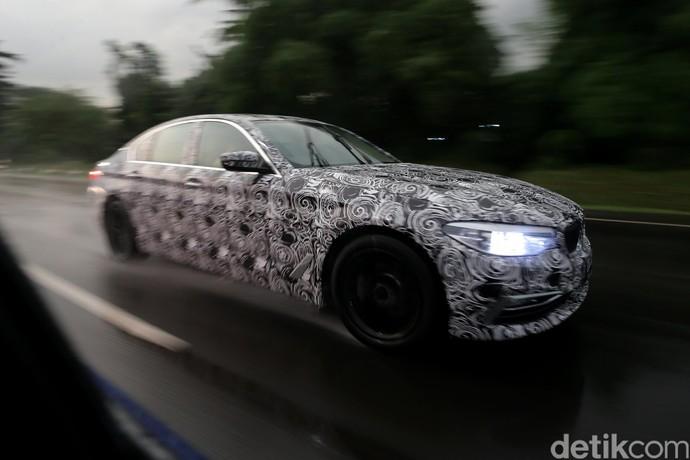 BMW Series 5 Terbaru Tertangkap Kamera Di Kawasan BSD