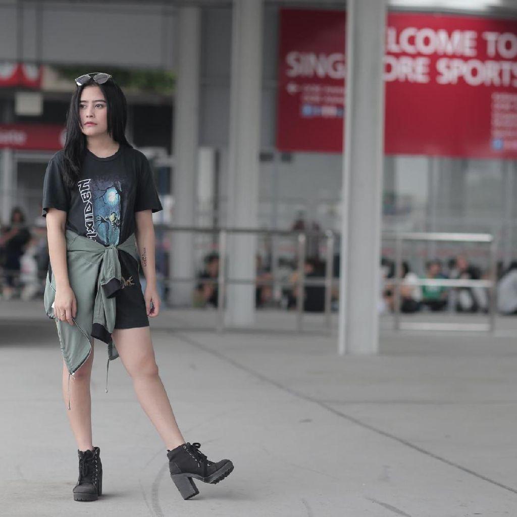 Prilly Latuconsina Sesalkan Ledakan di Konser Ariana Grande