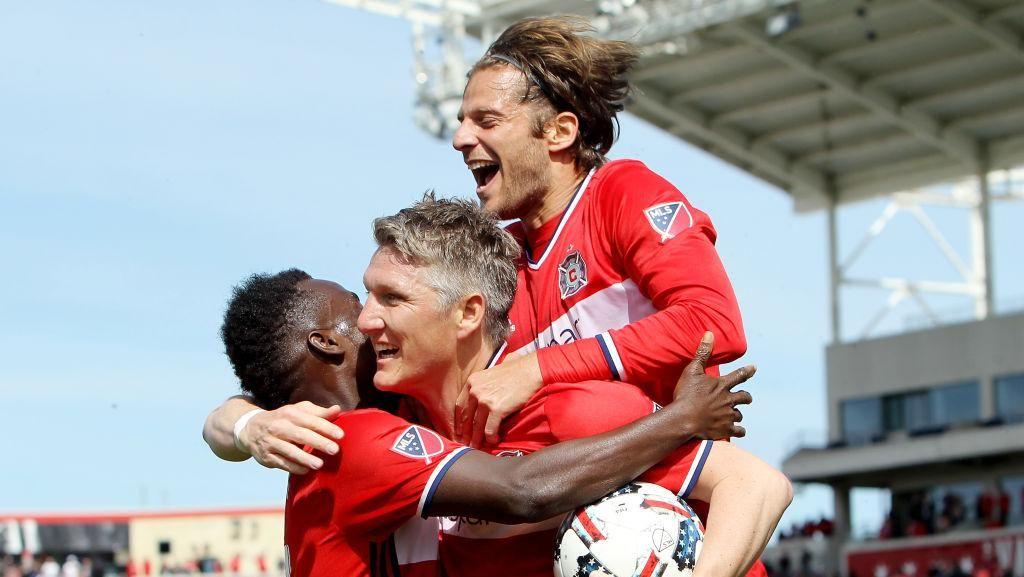Schweinsteiger Tandai Debut di MLS dengan Gol