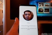 Menjajal Pemindai Wajah Galaxy S8