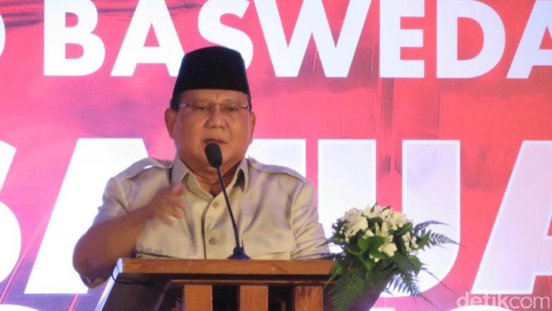 Prabowo Diredam Jelang Pilpres, Gerindra: Emas Tetaplah Emas