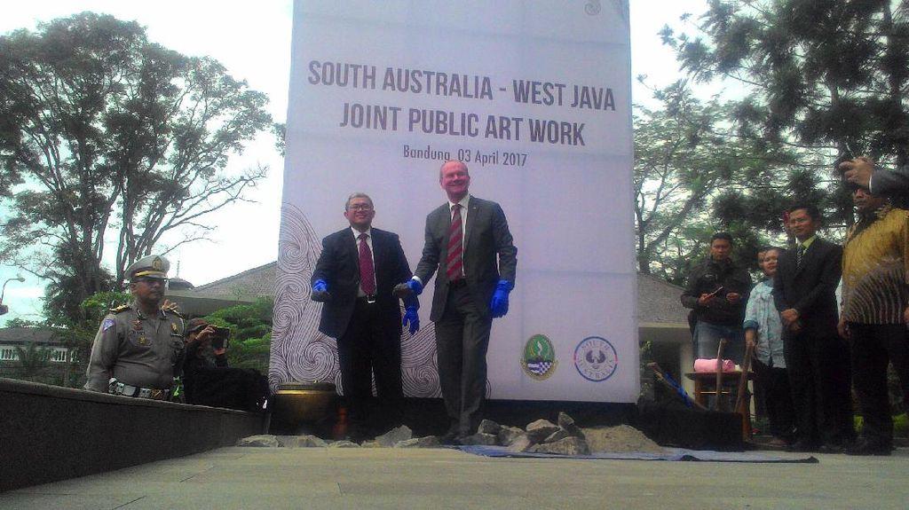 Erat Kerja Sama, Jabar-Australia Selatan Bangun Public Art Work