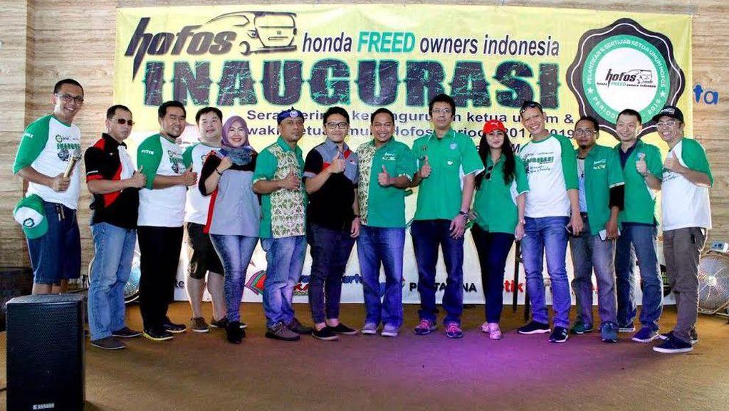Pecinta Honda Freed Punya Pemimpin Baru