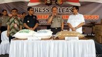 Polisi Sita Puluhan Ton Tapioka, Bawang Goreng dan Solar Ilegal
