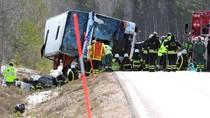Bus Rombongan Anak Terguling di Swedia, Tiga Orang Tewas